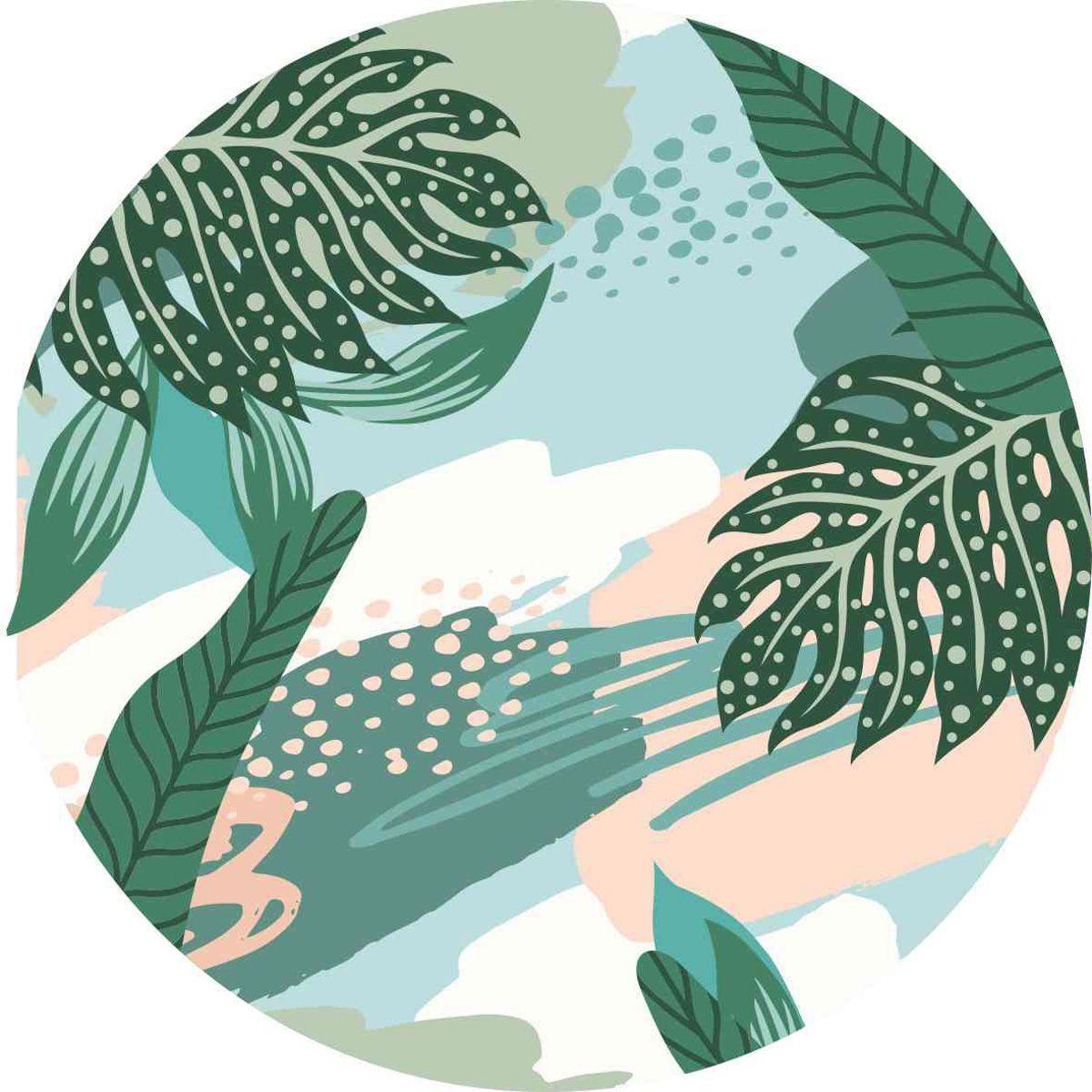 playmat folhagem salmão