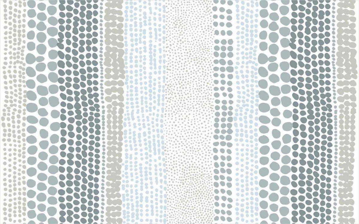 playmat mix bolinhas azul 100 x 160 cm