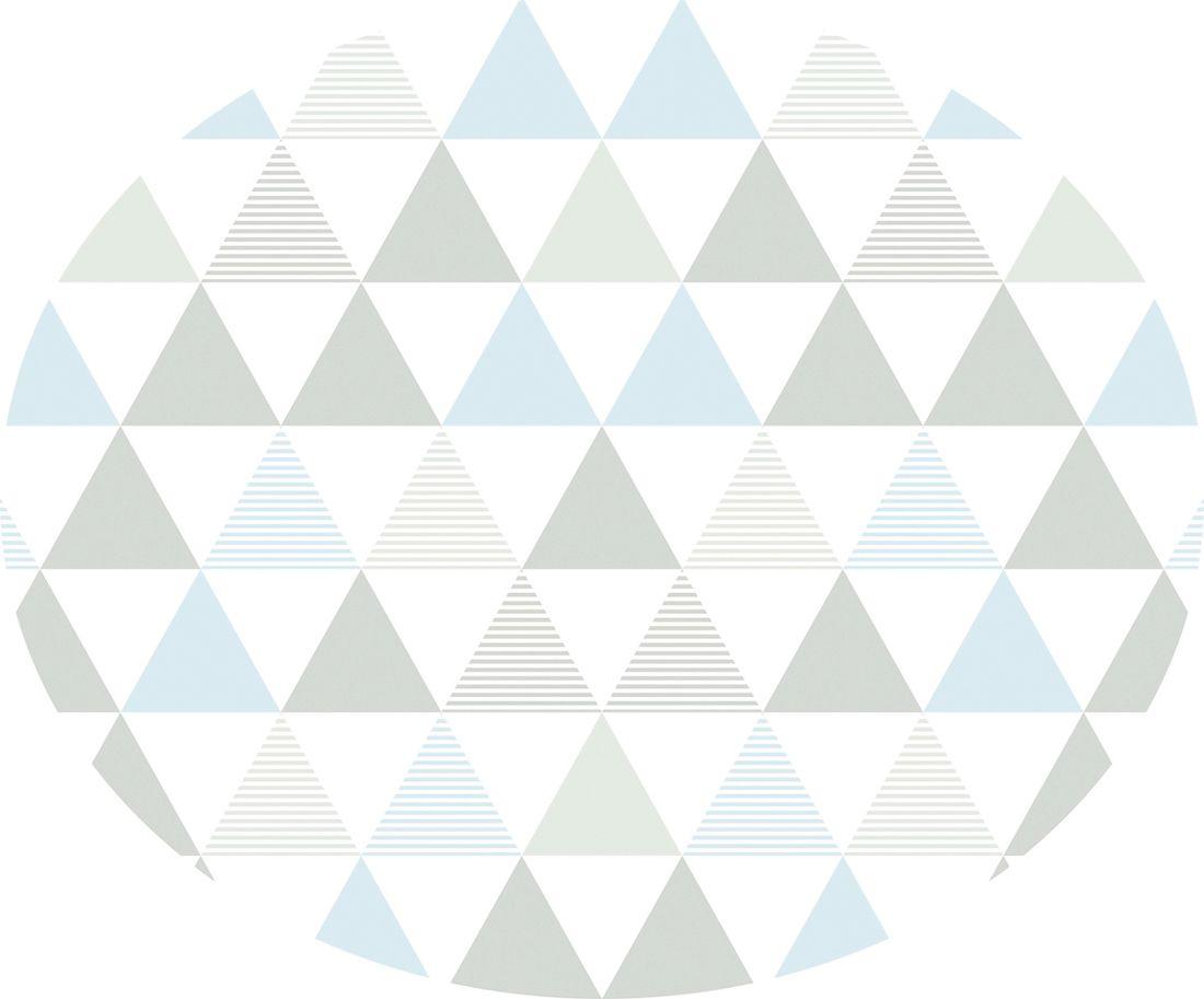 playmat t. design triângulos azul