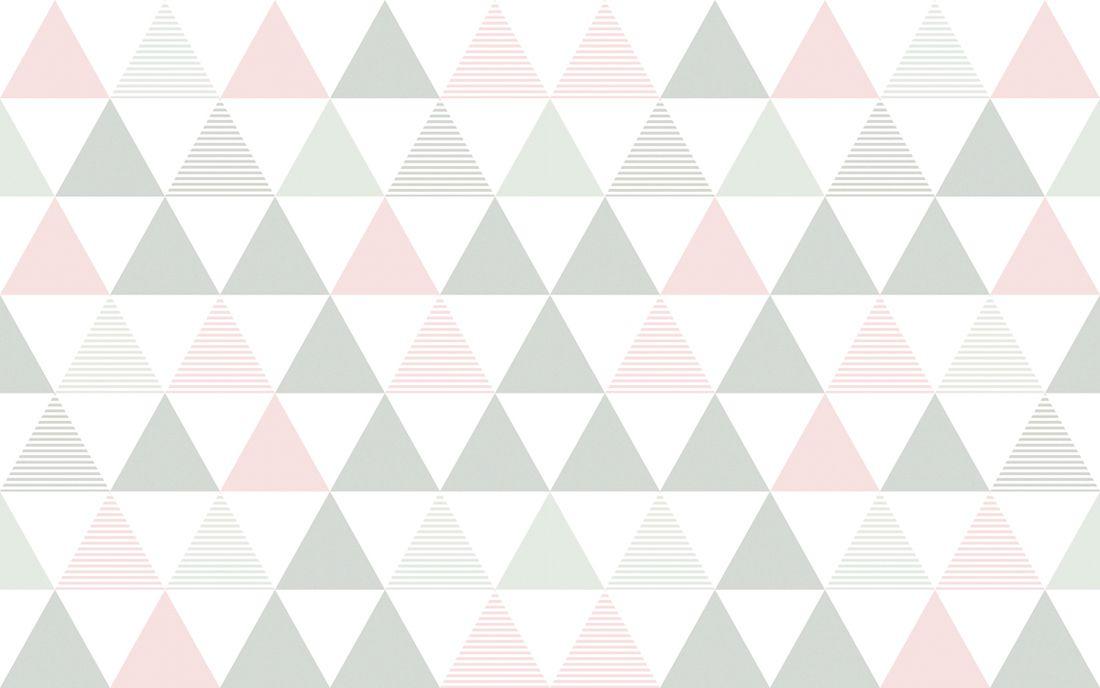 playmat triângulos rosa