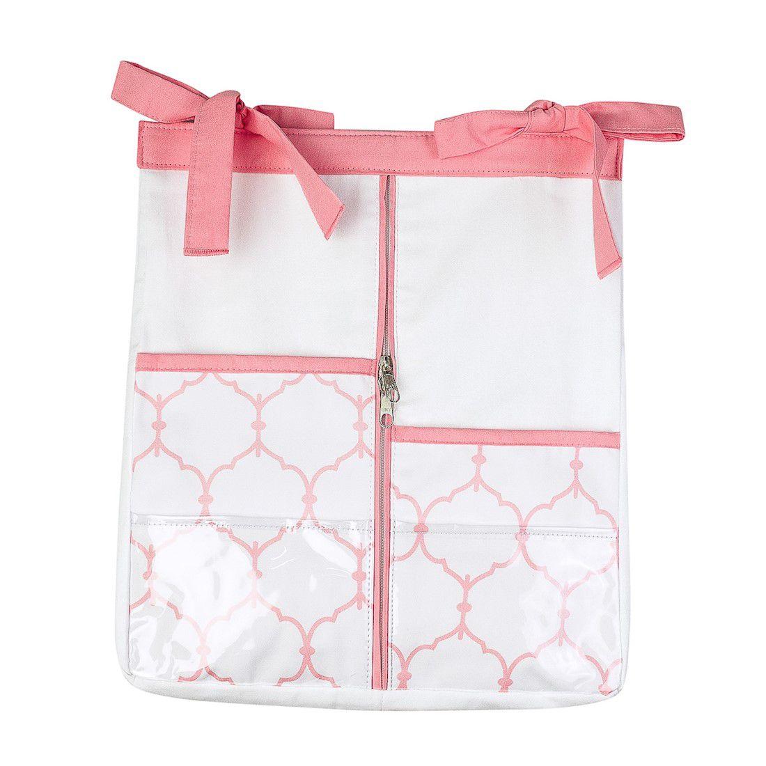 Porta-fraldas arabesco rose quartz