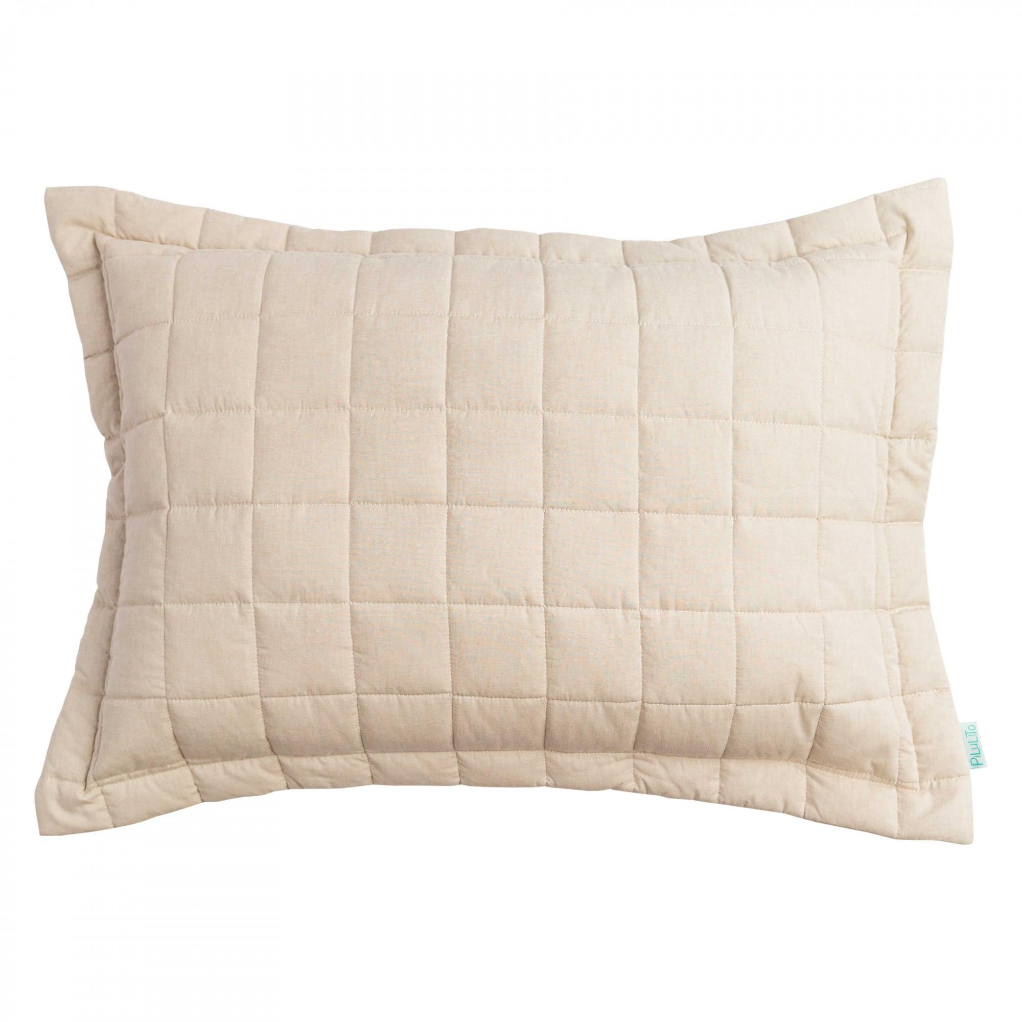 Porta Travesseiro Chambray Linho
