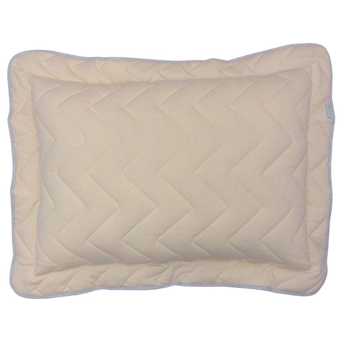 Porta travesseiro em malha chevron 70x50cm palha