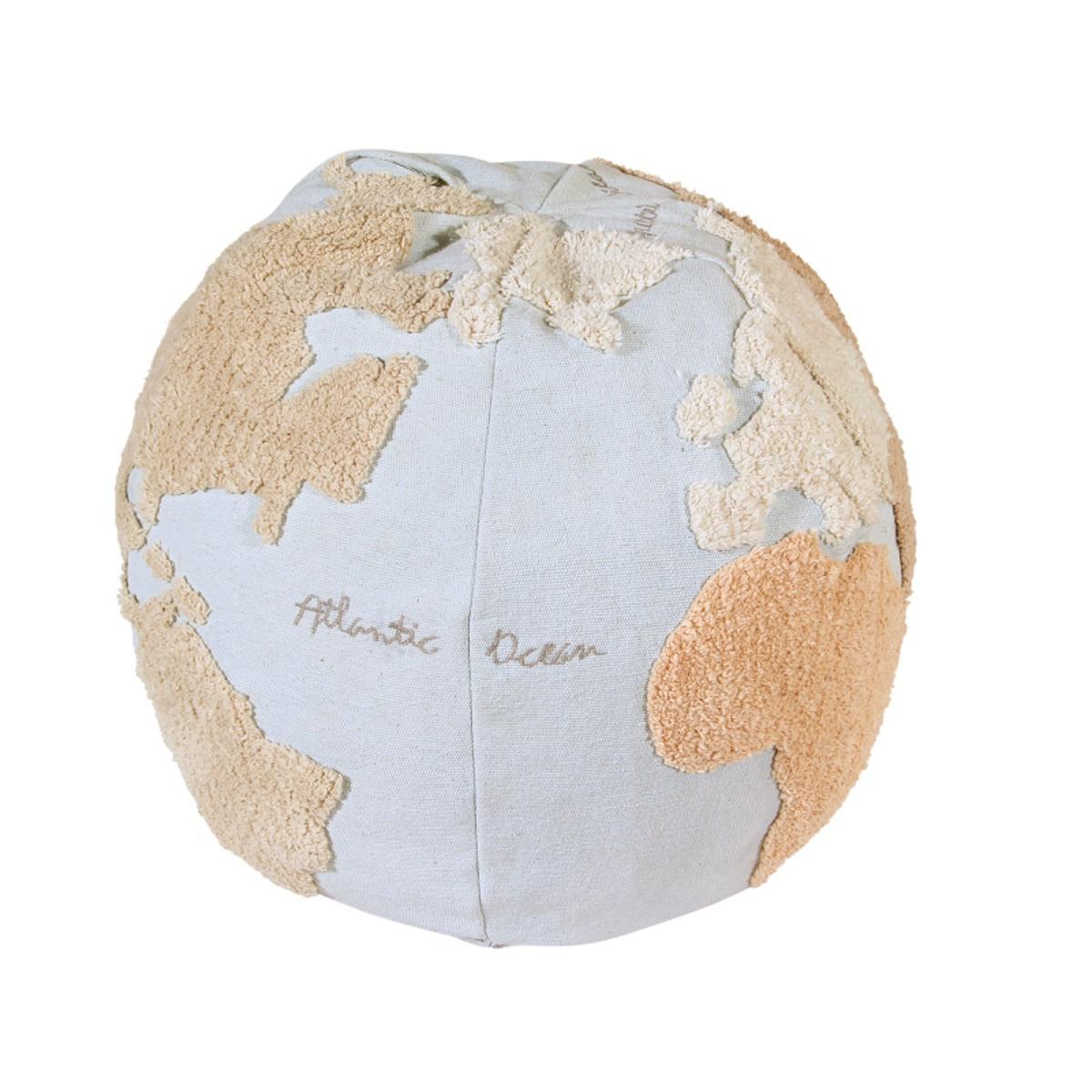 Puff Lorena Canals Mapa Mundi 45 x 50 x 50 cm