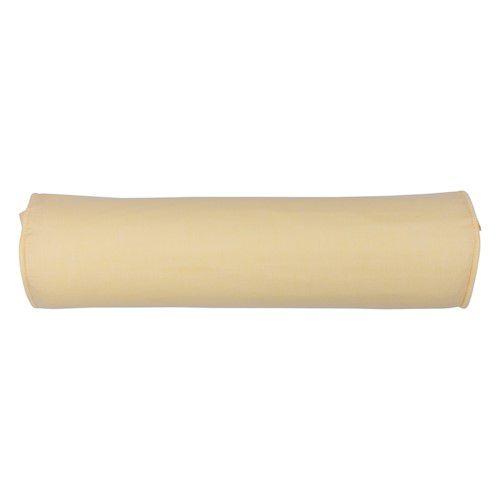 Rolinho peseira para berço 46 cm amarelo suave