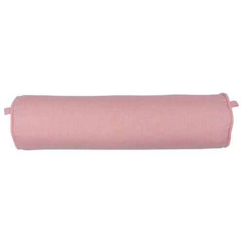 Rolinho peseira para berço 46 cm rosa chá