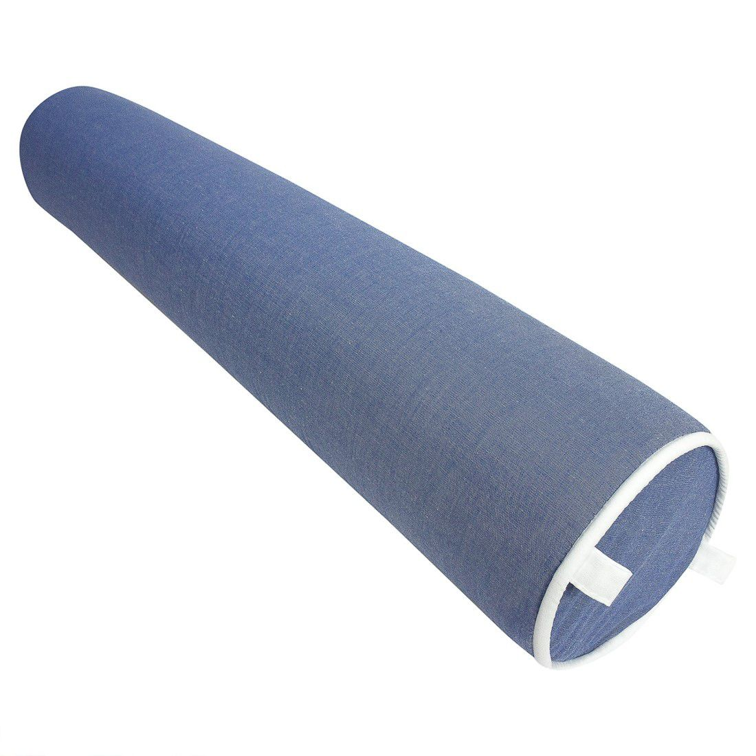 Rolo para cama 90 cm azul jeans