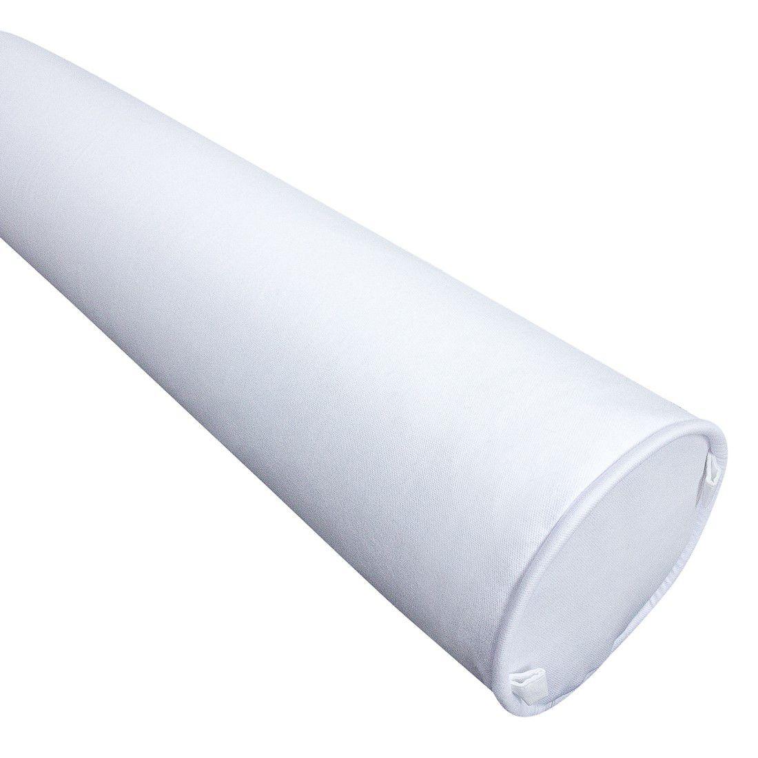 Rolo para cama solteiro 188 cm branco