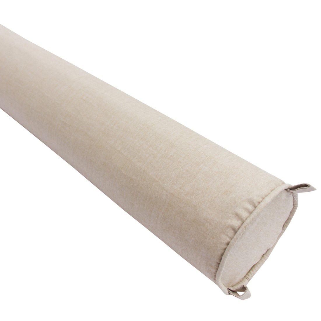 Rolo para cama solteiro 188 cm linho