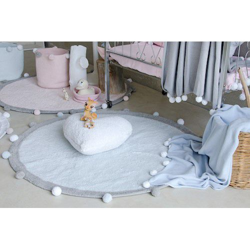 Tapete Lorena Canals BUBBLY AZUL 120 CM