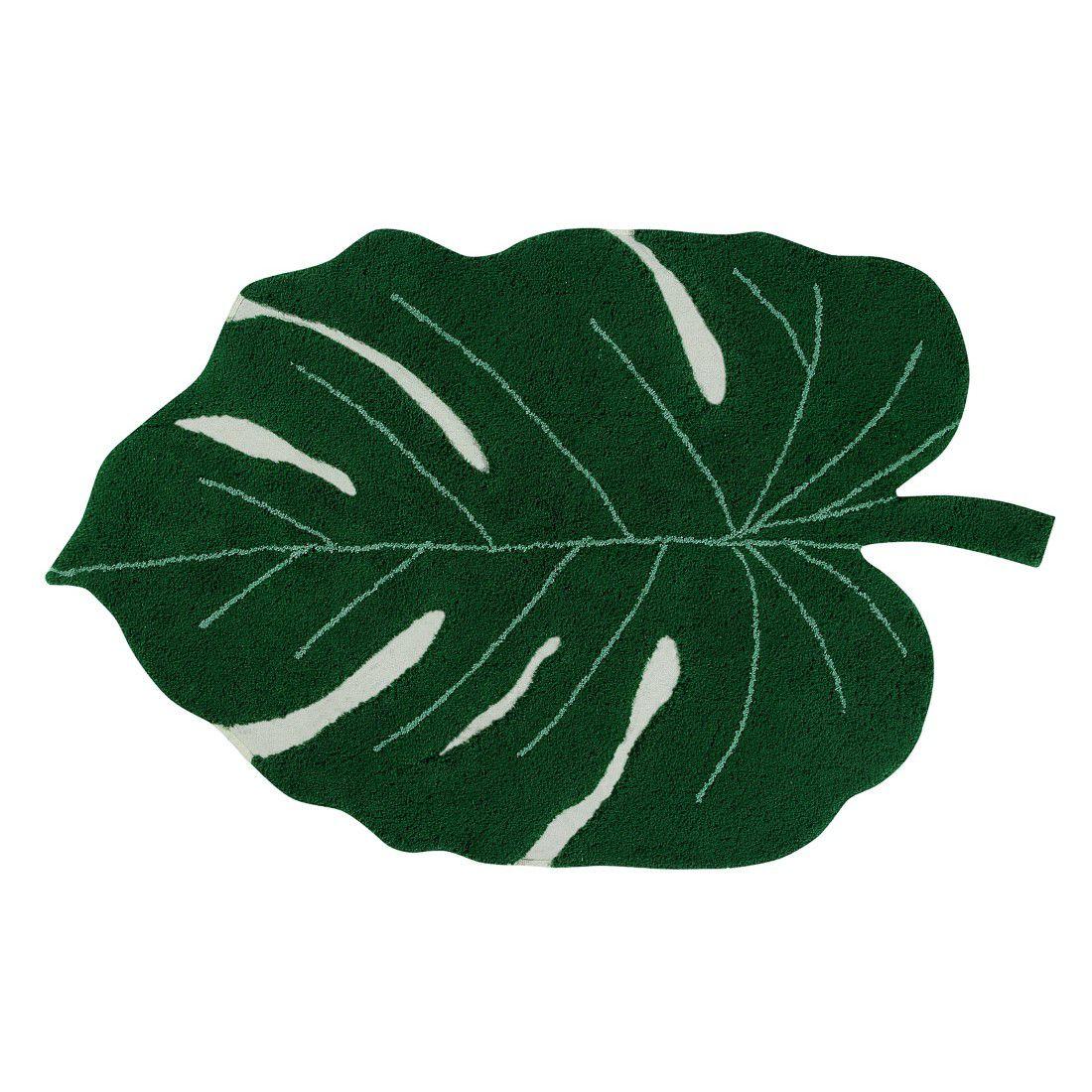 Tapete Lorena Canals COSTELA DE ADAO verde 120 X 180 CM