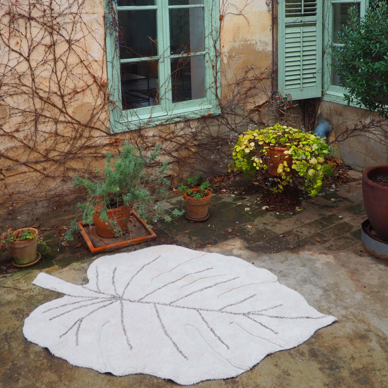 Tapete Lorena Canals Costela de Adão Natural 120 x 180 cm