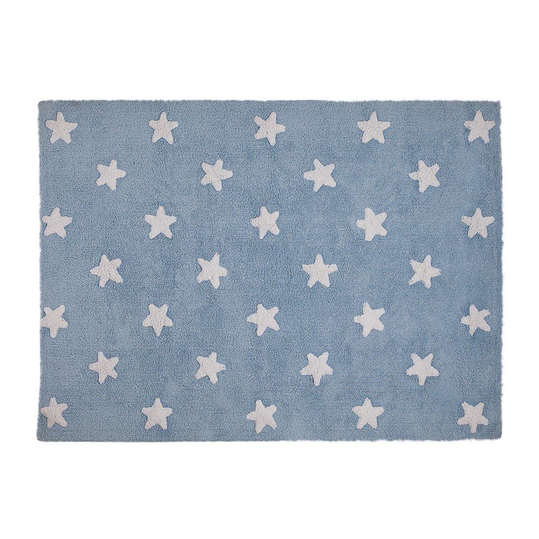 Tapete Lorena Canals Estrelas Azul 120 x 160 cm