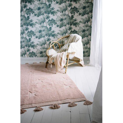 Tapete Lorena Canals Estrelas Hippy Vintage Nude 120 x 175 cm
