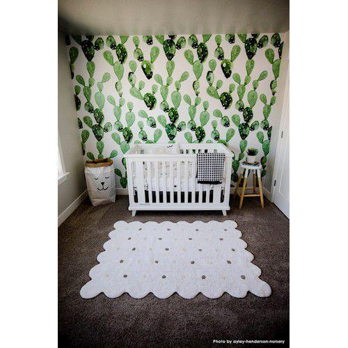 Tapete Lorena Canals Galleta Branco 120 x 160 cm