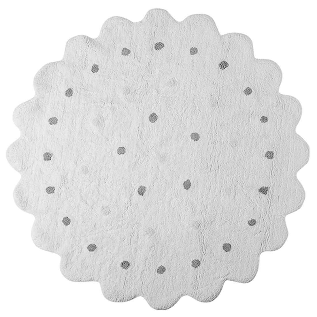Tapete Lorena Canals Galletita Branco 140 cm