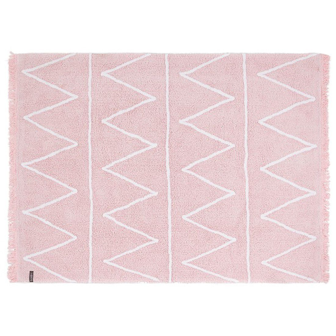 Tapete Lorena Canals Hippy Rosa Soft 120 x 160 cm