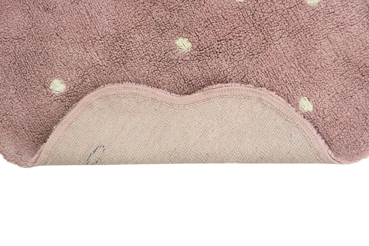 Tapete Lorena Canals Mini Biscuit Vintage Nude 90 x 90 cm