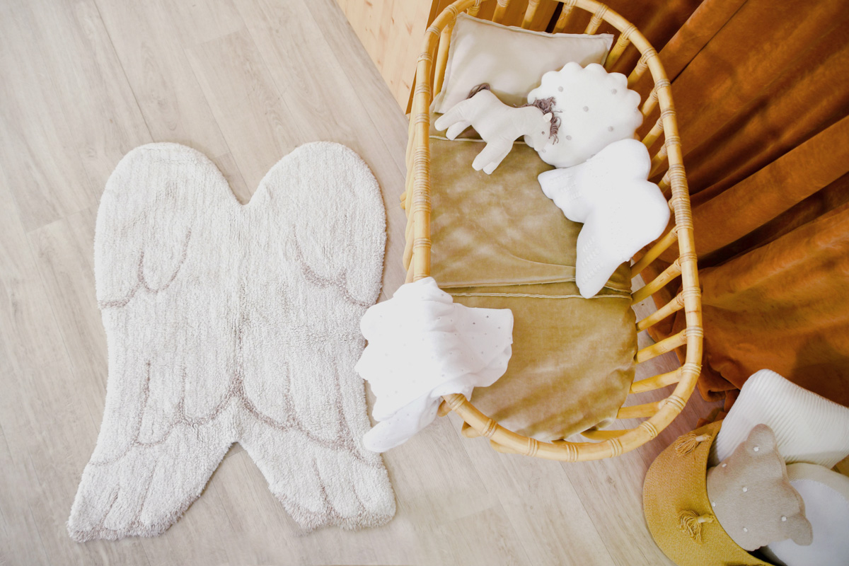 Tapete Lorena Canals Mini Wings 75 x 100 cm
