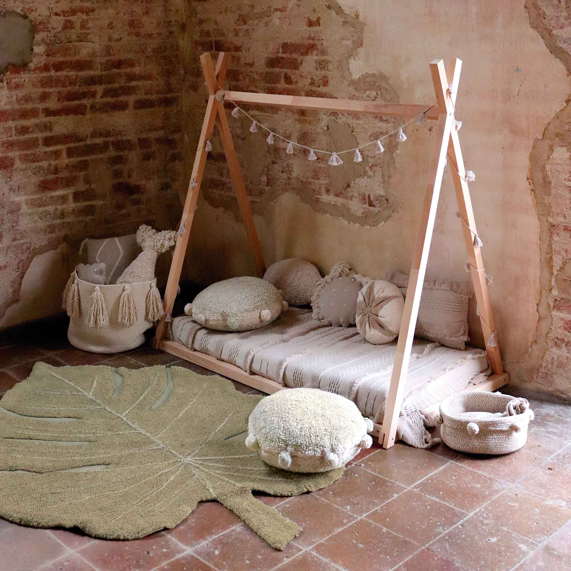Tapete Lorena Canals Montsera Honey Olive 120 x 180 cm