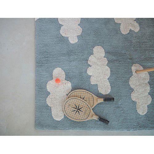 Tapete Lorena Canals Nuvem Azul Vintage 120 x 160 cm
