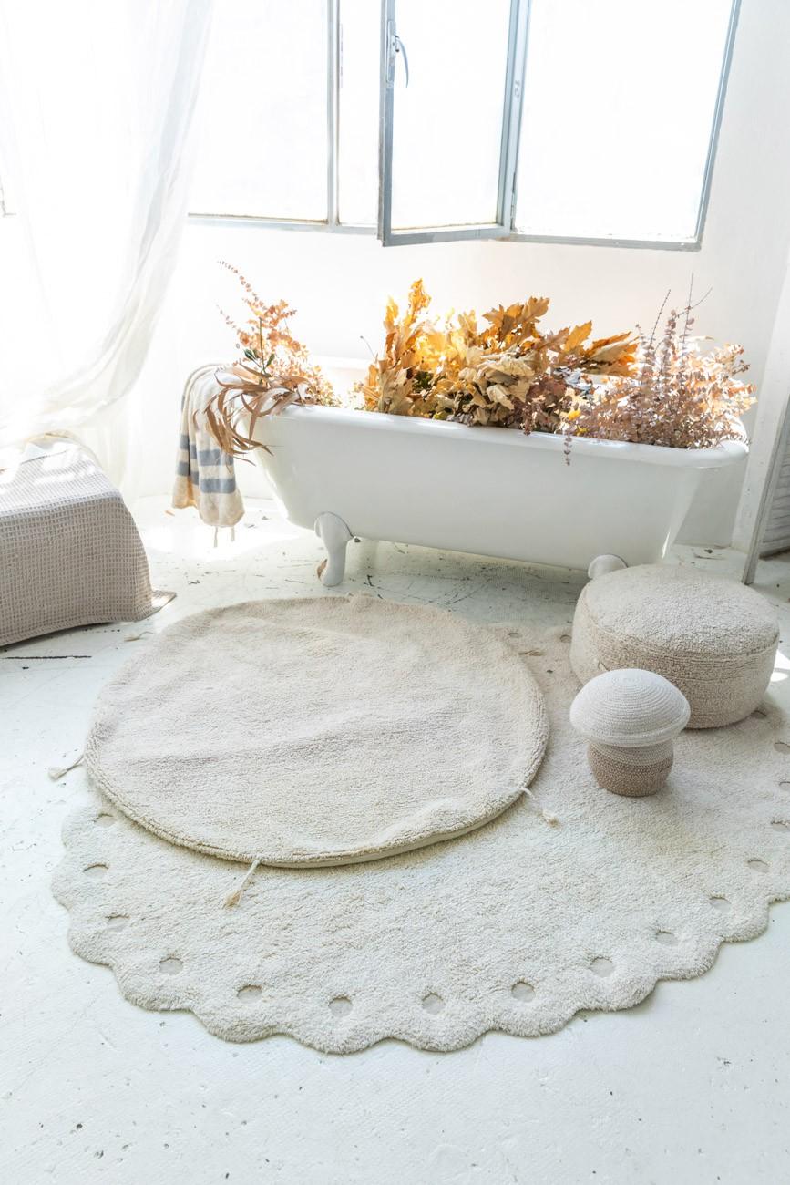 Tapete Lorena Canals Picone Marfim 130 x 180 cm
