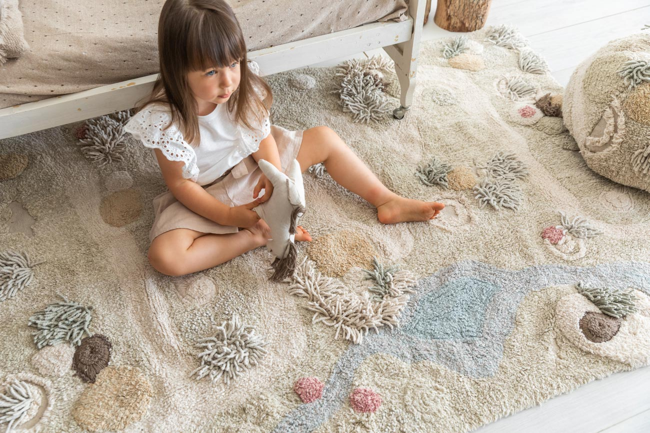 Tapete Lorena Canals Playmat Path of Nature 120 x 160 cm