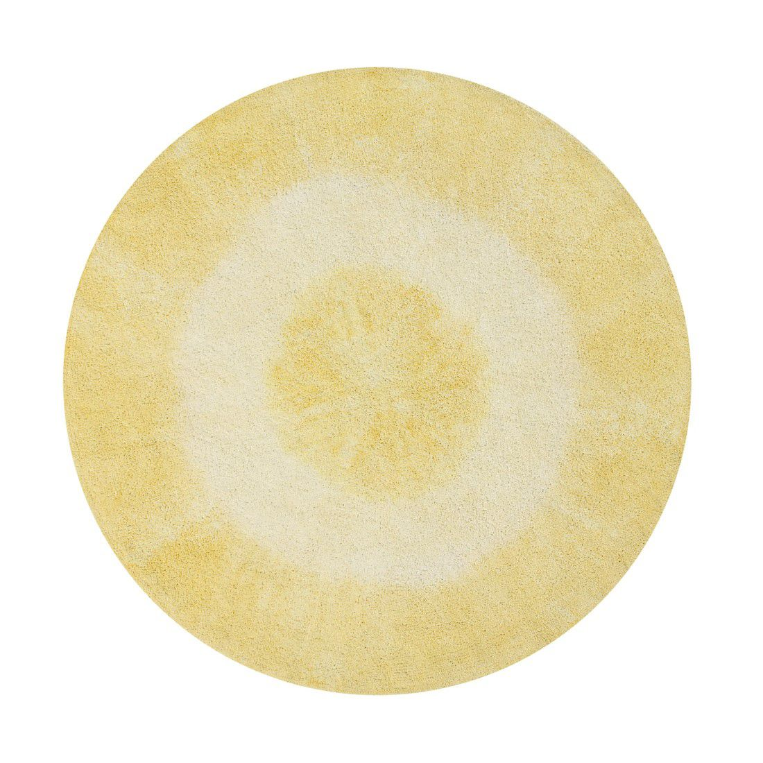 Tapete Lorena Canals Tie-Dye Amarelo 150 cm