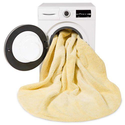 Tapete Lorena Canals Tie-Dye Amarelo 150 cm