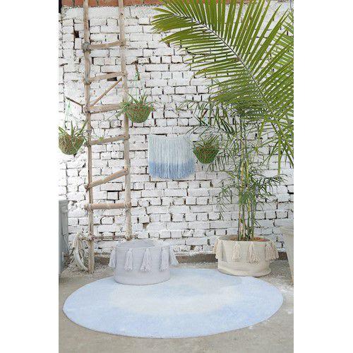 Tapete Lorena Canals Tie-Dye Azul 150 cm