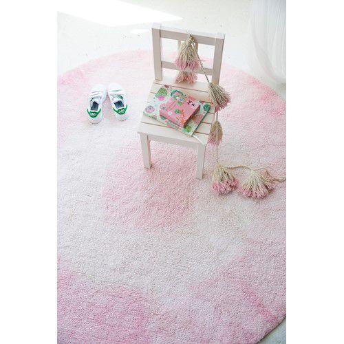 Tapete Lorena Canals Tie-Dye Rosa 150 cm
