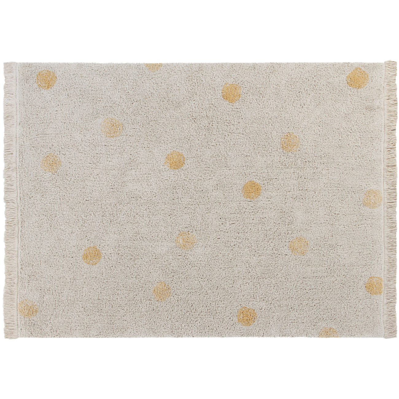 Tapete Lorena Canals Topos Hippy Honey 120 x 160 cm