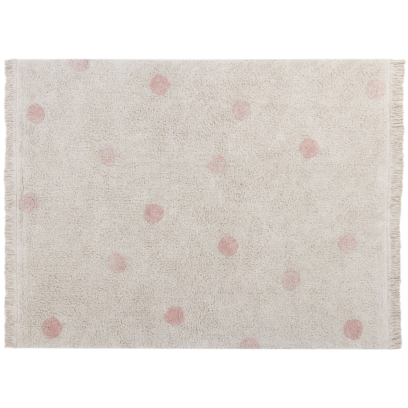 Tapete Lorena Canals Topos Hippy Vintage Nude 120 x 160 cm