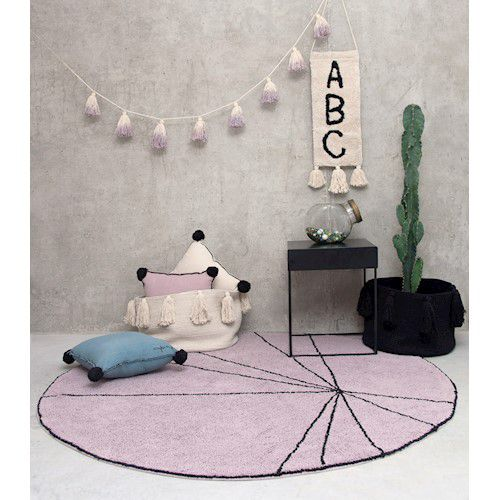 Tapete Lorena Canals Trace Wood Rose 160 cm