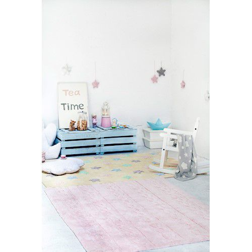 Tapete Lorena Canals Trança Rosa Soft 120 x 160 cm