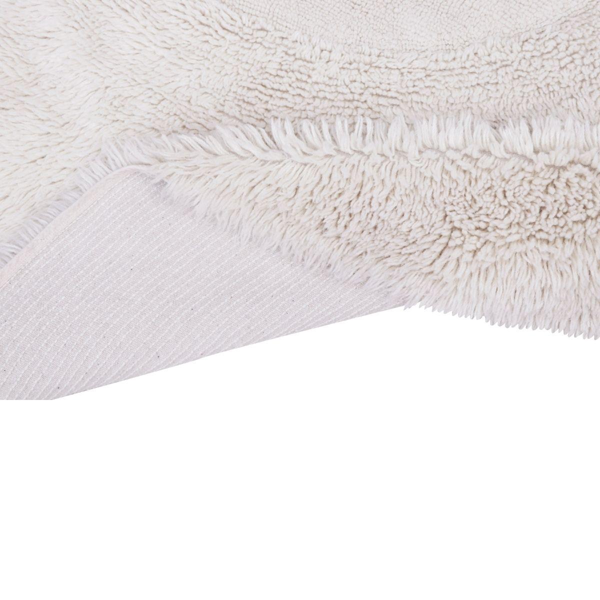 Tapete Lorena Canals Woolable Arctic Circle Sheep Branco 250 x 250 cm