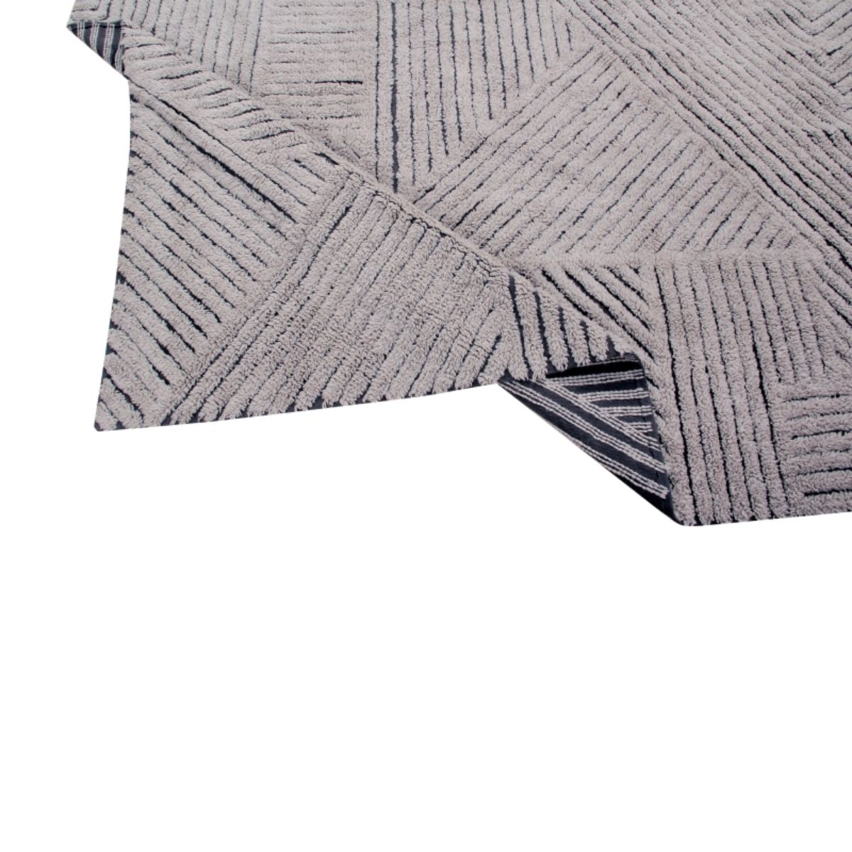 Tapete Lorena Canals Woolable Black Chia 240 x 170 cm