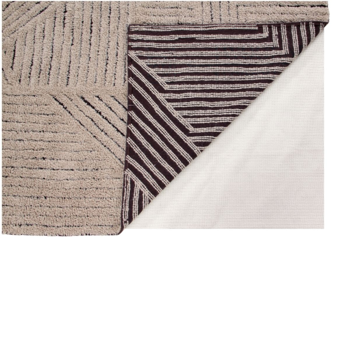 Tapete Lorena Canals Woolable Golden Coffee 240 x 170 cm