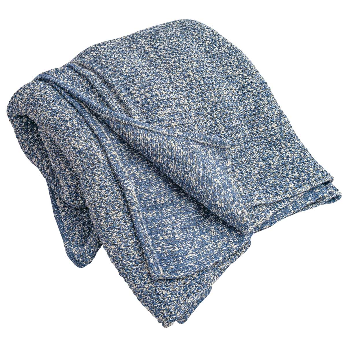 Tricot Mescla Azul Jeans