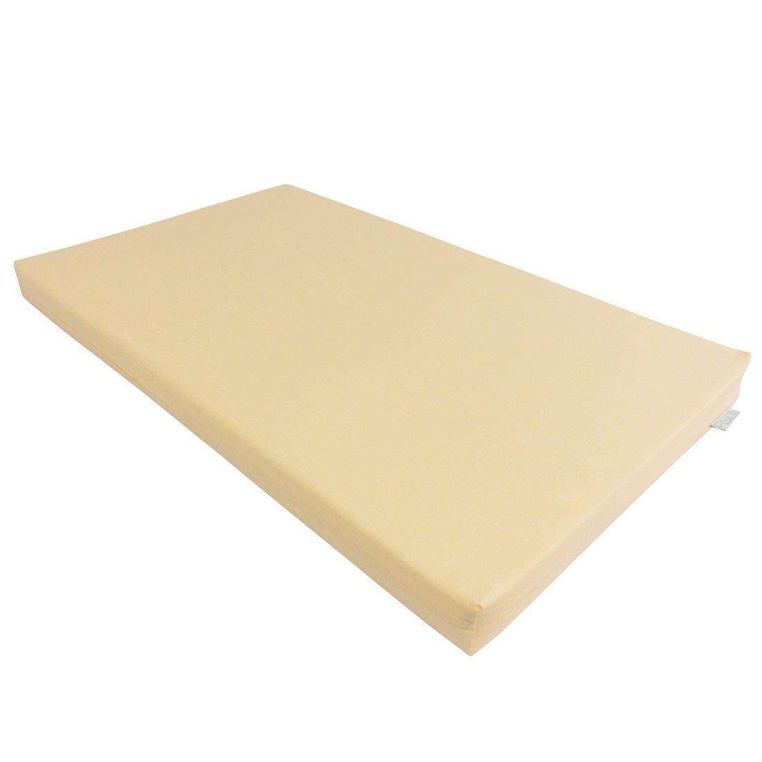 Trocador convencional amarelo suave