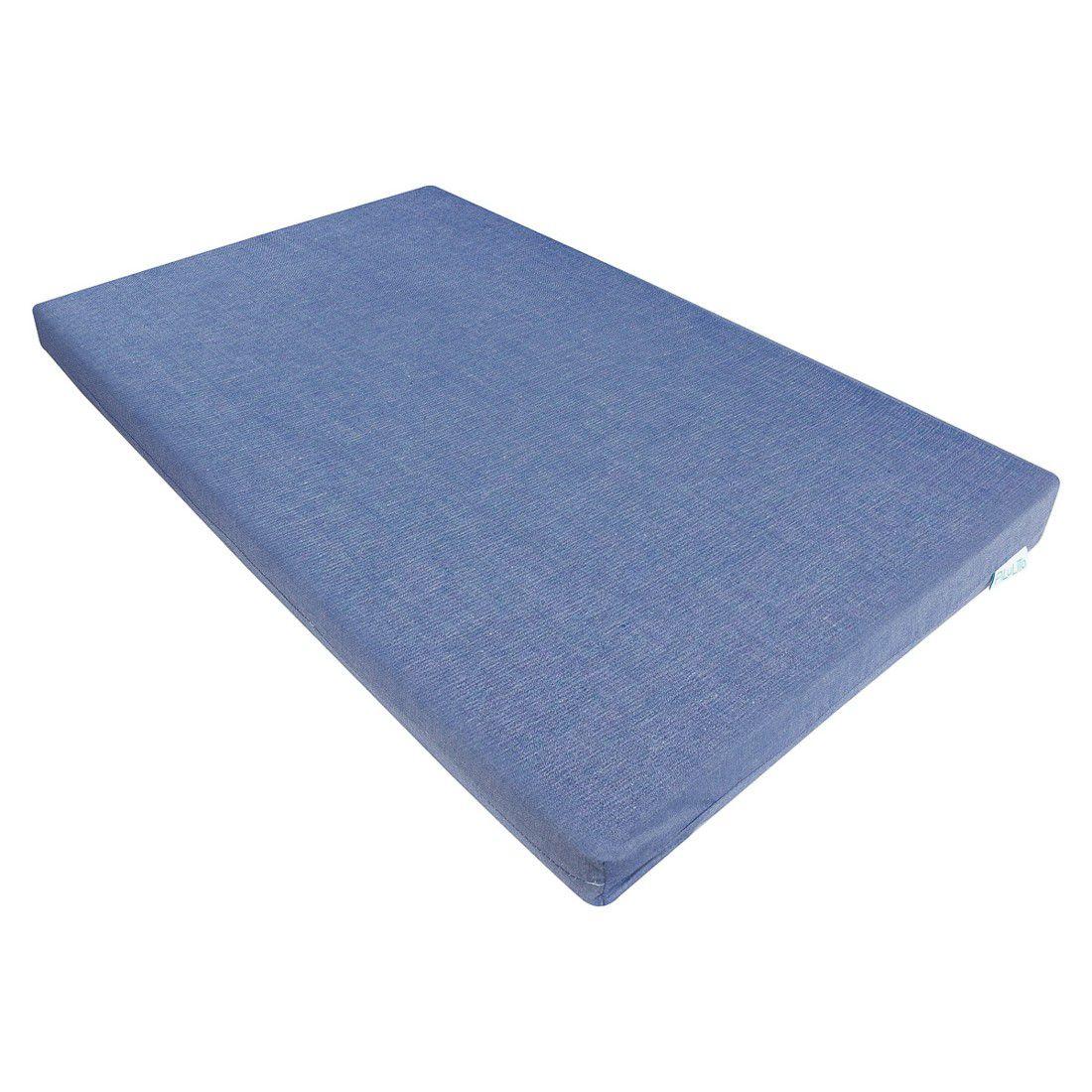 Trocador convencional azul jeans