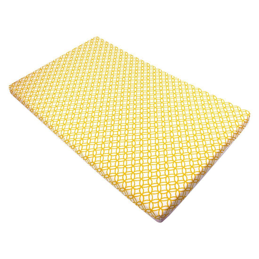 Trocador convencional círculos amarelo