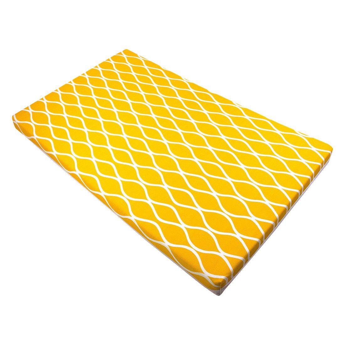 Trocador convencional ondas amarelo