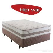 Cama Box Casal Herval Zematt One Side sem Pillow 193 x 203 x 64