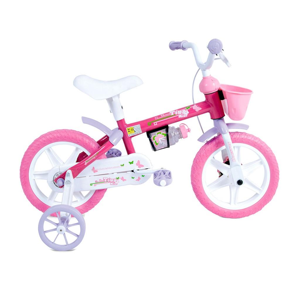 Bicicleta Infantil Aro 12 Houston Tina