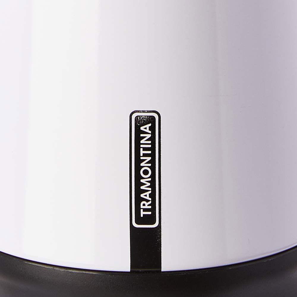Bule Térmico Tramontina em Aço Inox Exata Branco 750ML