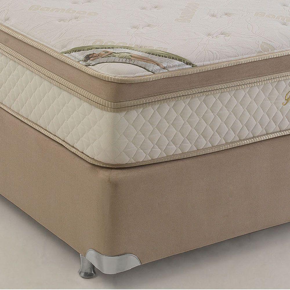 Cama Box Casal Herval Pallace Bambu 138x188