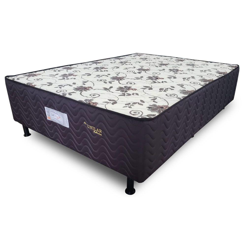 Cama Box Casal Soft Flex Uniespuma Imperial 138 x 188