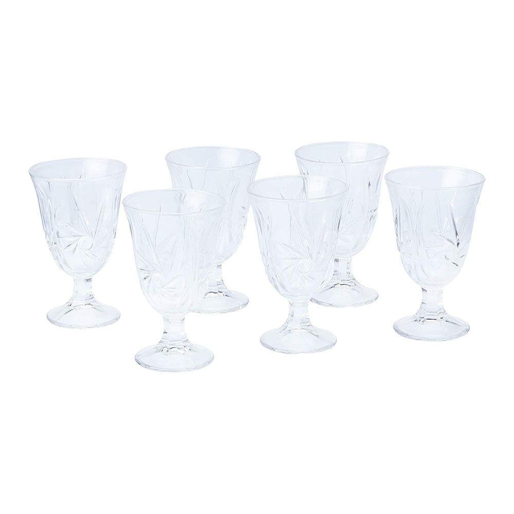 Conjunto Lyor 6 Tacas 240ml 6830 C/ Jarra Cristal Prima Luxo 1,3l