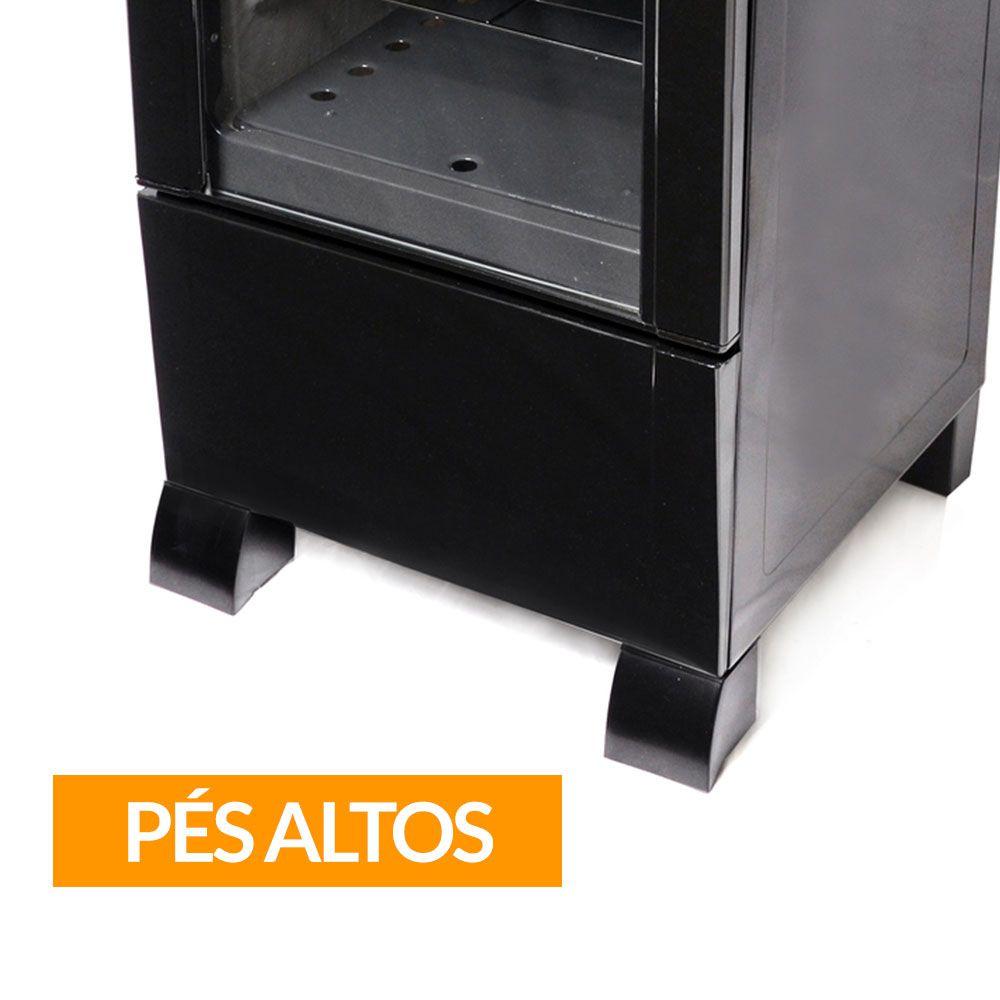 Fogão Braslar 4 Bocas Sirius Plus Black